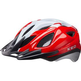 KED Tronus casco per bici rosso